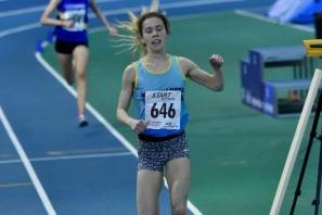 North of England indoor U20 3000m Champion
